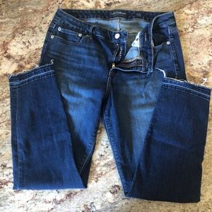 Lucky brand Lolita crop mid-rise jeans 12/31